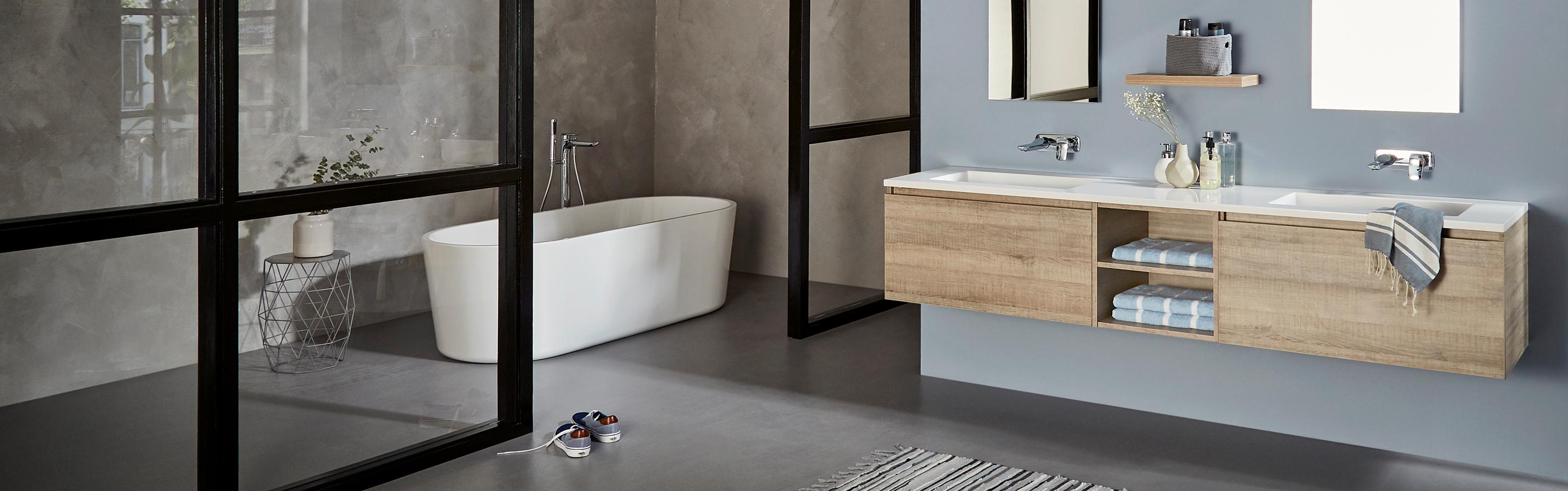 Home hek badkamers for Badkamer tekenen 3d